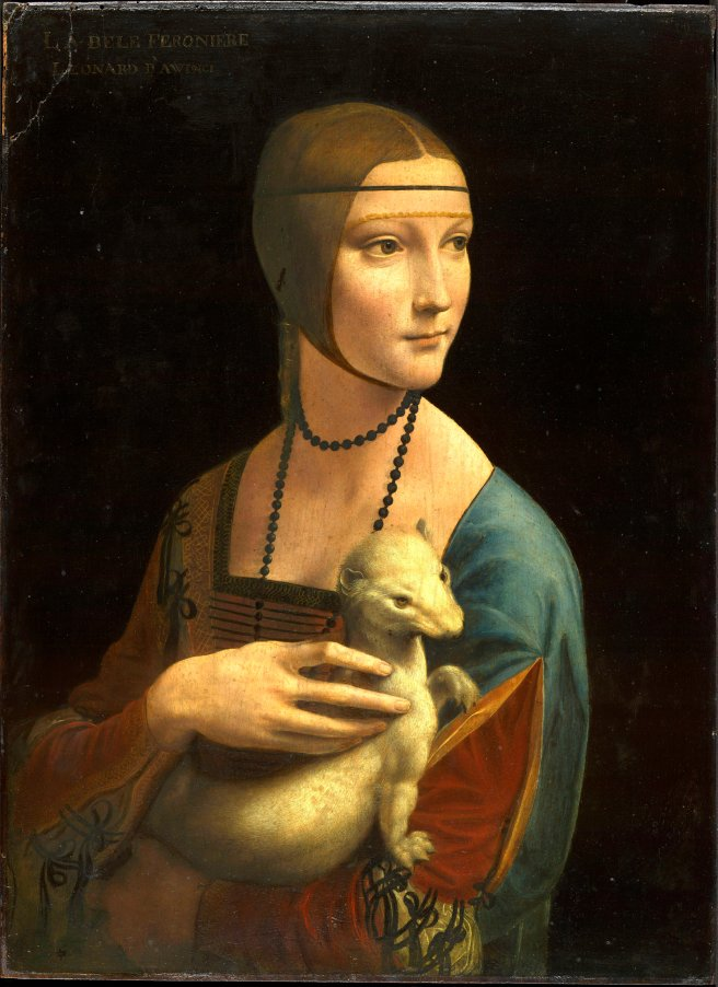 Lady With A Weasel